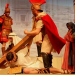 Szene 16 - Kreuzigung und Jesu Tod