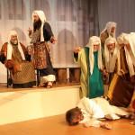 Szene 12 - Jesus vor dem Hohen Rat