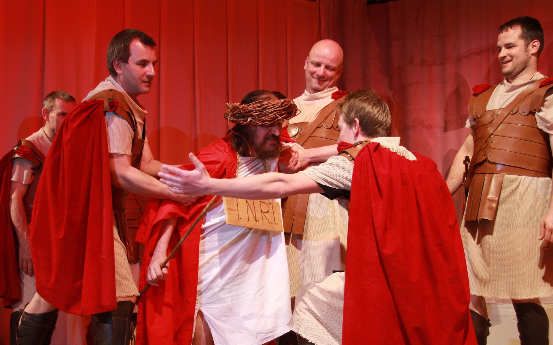 Verspottung Jesu durch die Römer